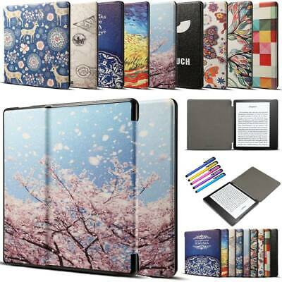 """For Amazon Kindle Oasis 9th Gen 7"""" 2017 Slim Smart Leather Flip Case Cover Shell"""