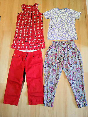 Cute bundle of girls' summer tops & trousers. Size 9-10 years. My Little Pony!