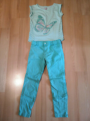 Cute two part jeans & t-shirt outfit from Kids Place. 7-8 years. Barely worn.
