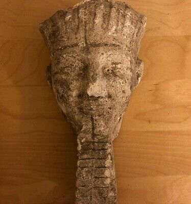 Egyptian King Of The Gods God Amun Bust ( Head )