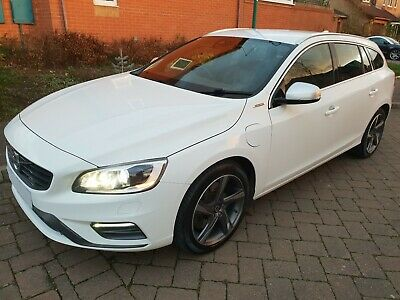 Volvo PHEV Twin Engine V60 R-Design LUX NAV D6 AWD Hybrid Auto £0 Road Tax Lther