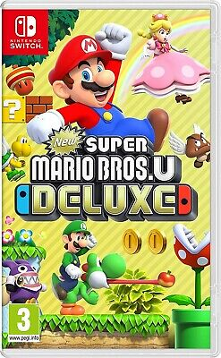 New Super Mario Bros. U Deluxe - Nintendo Switch - Neu & OVP - Blitzversand