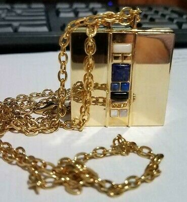 "1 Estee Lauder Solid Perfume Compact ""Private Collection Necklace"""