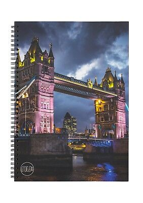 Nu Photographic A5 Card Cover Wiro Notebook