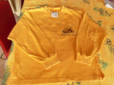 polo sweat pull WINNIE THE POOH l'ourson disney 122 enfant