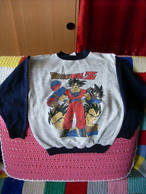 polo sweat pull DRAGON BALL Z 6 ans enfant