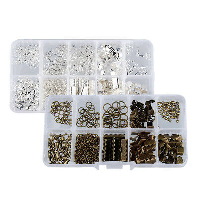 2 Set Jewellry Making Starter Kit Beading & Jewelry Making Kit Bronze Silver