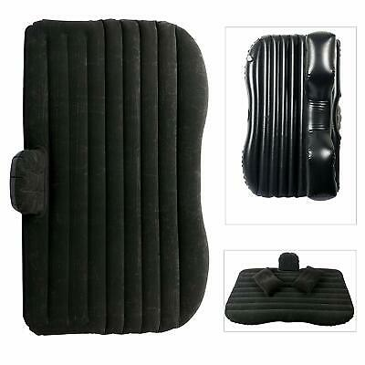 YaeTact Car Travel Inflatable Mattress Inflatable Bed Camping Universal Black