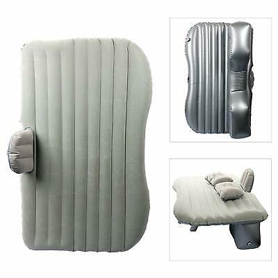 Car Travel Inflatable Mattress Inflatable Bed Camping Universal (Silver)