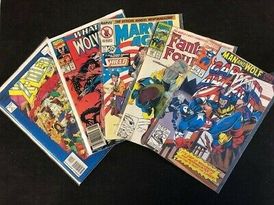 Random Grab Lot of 20 Comic Marvel, DC & Indie 1970s to Modern VG or Better
