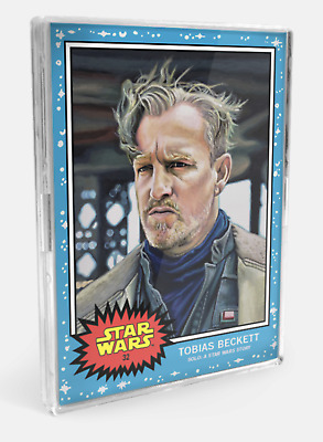 Topp Star Wars Living Set 2-Card Bundle - Cards #31-32 Aurra Sing Tobias Beckett