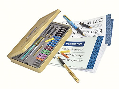 Best Calligraphy Pen Set Starter Kit Letters Ink Cartridge Practice Pad Included