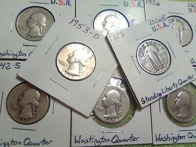 Vintage Coin Starter Collection Lot Of 104 U.S. Coins ~90% Silver Coins Included