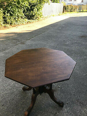 Victorian octagonal dining table - small