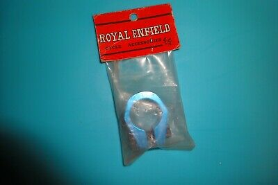 """Silver Vintage New NOS BMX Bicycle Royal Enfield 1/"""" Seat Post Clamp"""