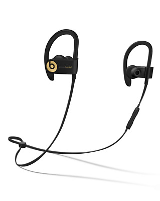 Excellent OEM Beats by Dr Dre Powerbeats3 Wireless Headphones. Trophy Gold