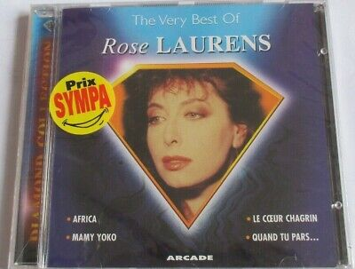 """Rose Laurens - Très Rare Cd """"The Very Best Of"""" - Neuf Sous Blister !"""