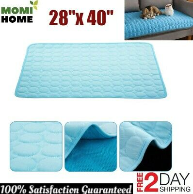 """Cooling Mat for Dogs Large Pet Cooling Pad Non Toxic 100% Safe Material 28""""x 40"""""""
