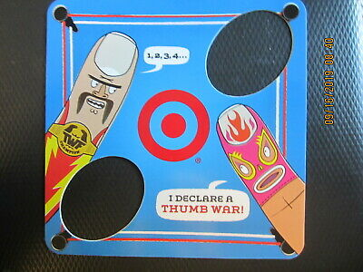 THUMB WAR GAME   TARGET swap trade collect NO VALUE GIFT CARD