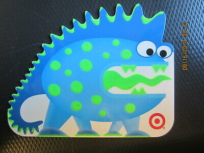DINOSAUR   TARGET swap trade collect NO VALUE GIFT CARD