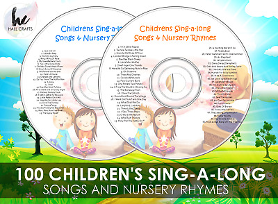 Sing-A-Long Nursery Rhymes Music For Children, Fun For Kids Songs Audio Cd