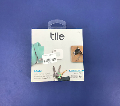 New Tile Mate Bluetooth Key and Phone Finder T5001 w/Replacement Battery #0596