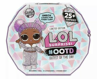 LOL Surprise Doll 2019 OOTD Advent Calendar Winter Disco OMG IN HAND New Rare