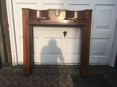 Original 1930s Fireplace Surround With Tiles