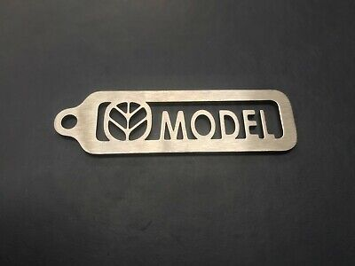 New Holland Stainless Steel Keyring- Customised model, type or a name