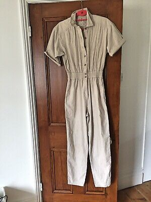 Superb Carole little Vintage Cotton Jumpsuit Size 10