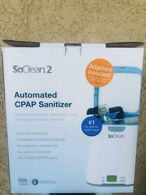 SoClean 2 + Philips Respironics DreamStation Adapter| CPAP Cleaner and Sanitizer