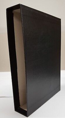 New Black Slip Case to fit Lighthouse or Prinz 64 pp Stock Book