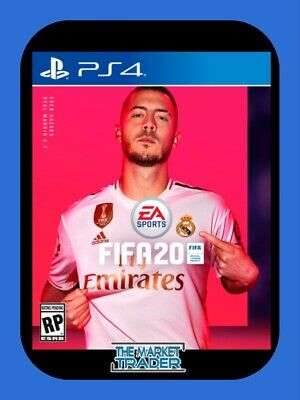 Fifa 20 Ps4 Playstation 4 Game - New Sealed - Best Service - Fast Free Postage