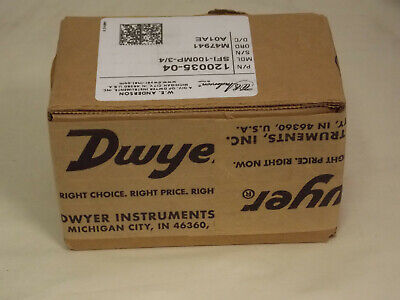New Dwyer  W.E. Anderson Sight Flow Indicator, SFI-100MP-3/4 P/N 120035-04