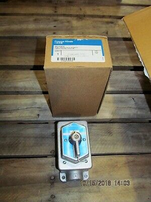 Crouse Hinds MC11272 Selector Switch