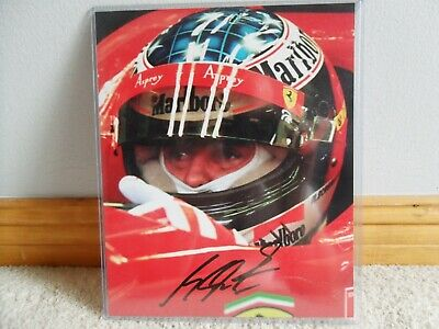 Michael Schumacher Ferrari Formula One Signed Photograph W/Coa