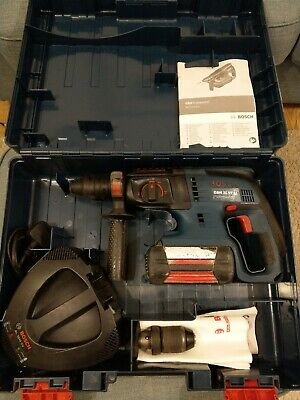 Bosch GBH 36VF-LI SDS / Rotary hammer drill chisel case battery charger manuals.
