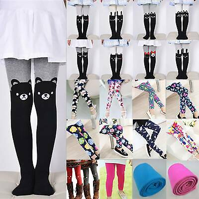 Toddler Kids Girls Skinny Leggings Winter Thermal Slim Stretch Pants Trousers