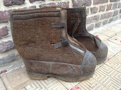 original botte grand froid allemande ww2! belle état!