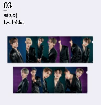 SEVENTEEN 3RD ALBUM An Ode CONCEPT ZONE GOODS 13 CLEAR FILE L-HOLDER SET SEALED