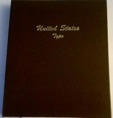 Dansco 7070 US Type Set Album 6 Pages * Includes A New Very Scarce Gold Page