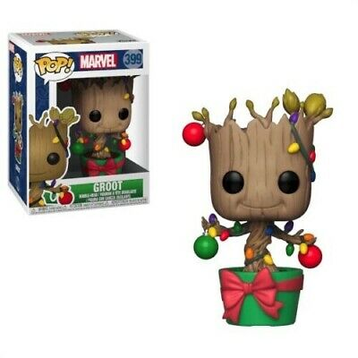 Funko Pop Marvel Guardians of the Galaxy Groot 399 Christmas