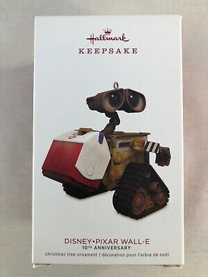 Hallmark Keepsake Ornament 2018 Disney PIXAR Wall-E 10th Anniversary