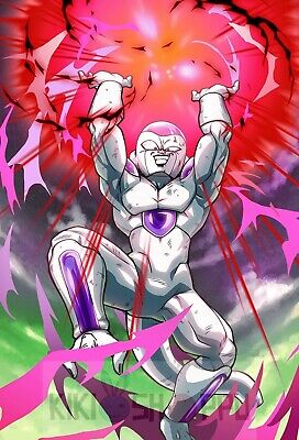 Poster A3 Dragon Ball Frieza Freezer Anime Manga Cartel Decor Impresion 01