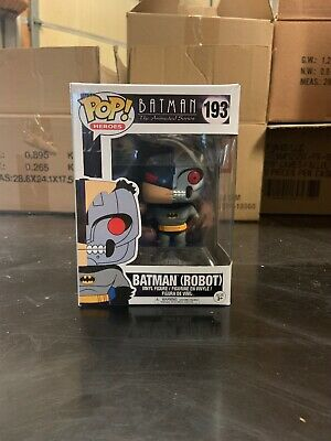 Funko Pop Batman #193 Animated Series robot head NEW L@@K