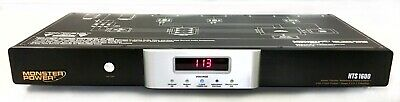 Monster Cable HTS1600 Power Surge Protector Home Theatre Reference Power Center