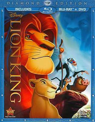 The Lion King (Blu-ray/DVD, 2011, 2-Disc Set, Diamond Edition) W~ Slipcover
