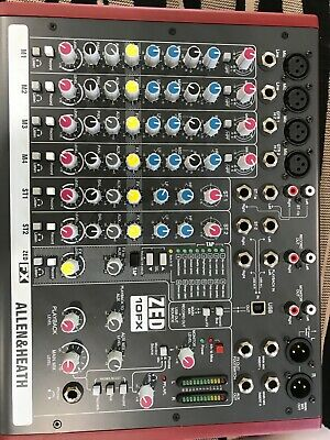 Allen and Heath Zed10FX Mixing Desk - hardly used and in box