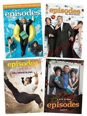 Episodes All 1-5 Seasons DVD Set TV Series Collection Matt LeBlanc Bundle Show 2