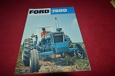 Ford 7600 Tractor Dealer's Brochure RCOH